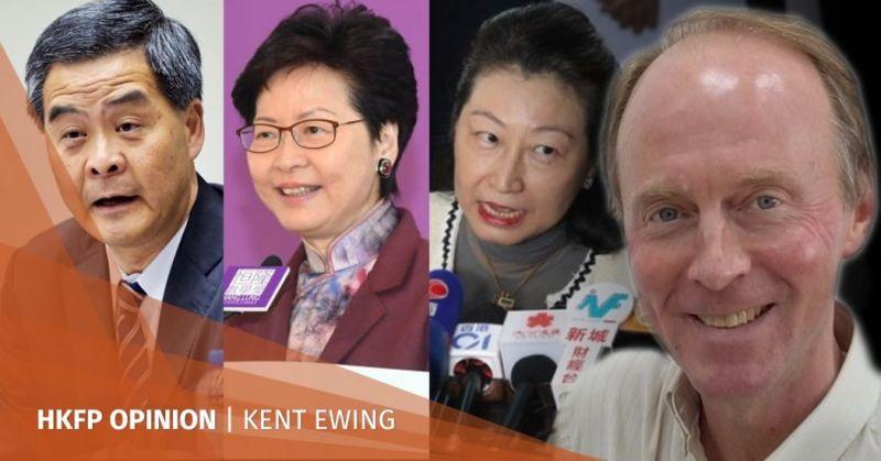 CY Leung Carrie Lam Teresa Cheng