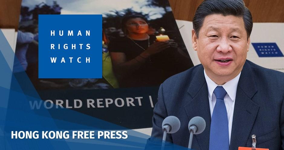 xi jinping human rights watch