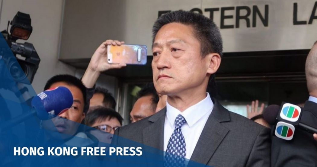 JUST IN: Hong Kong's top court rejects final appeal by retired cop Frankly Chu over Occupy pedestrian assault | Hong Kong Free Press HKFP