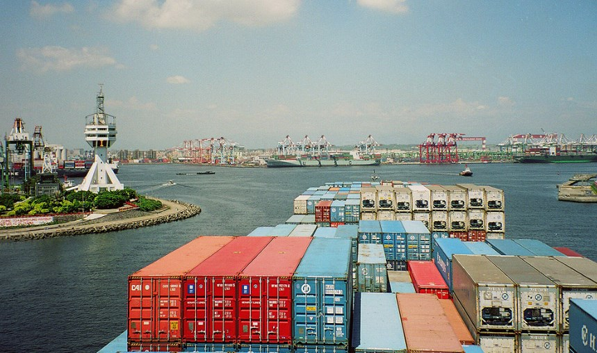 Taiwanese port of Kaohsiung
