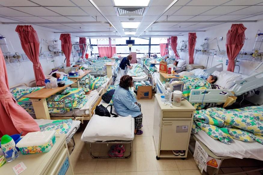 Public hospital beds