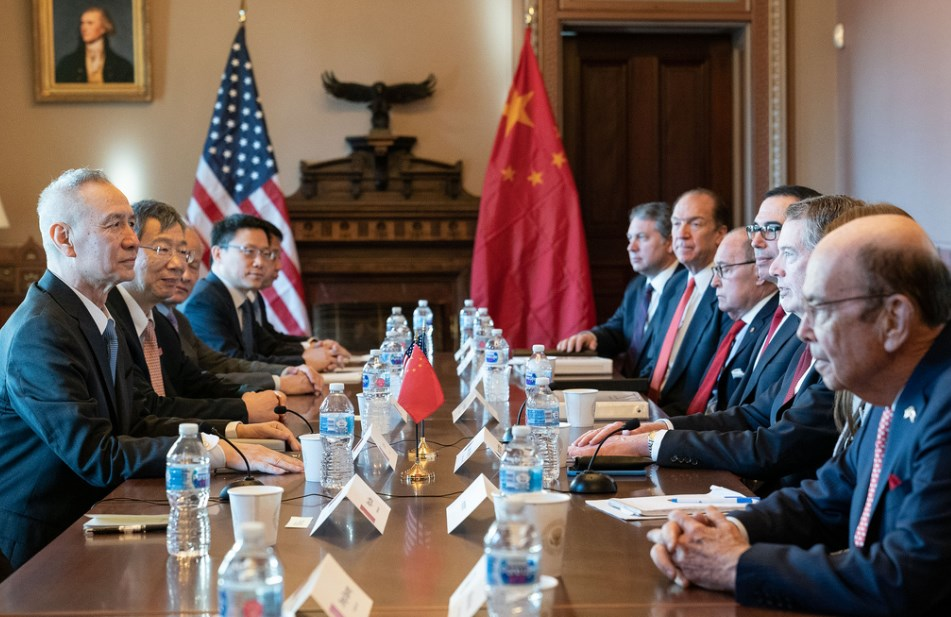 Meeting Between the United States and China on Trade