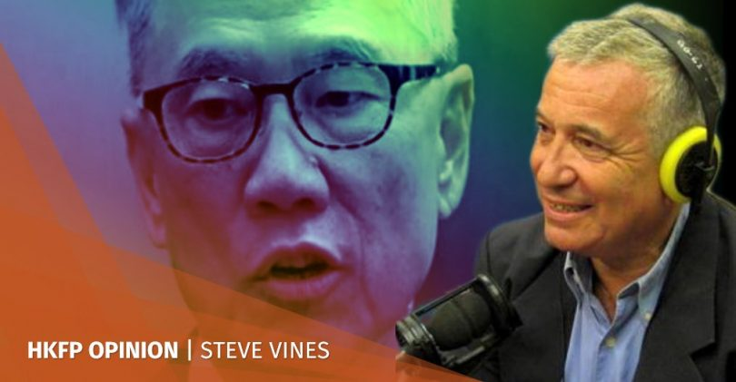 steve vines donald tsang