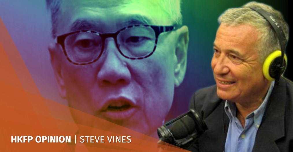 steve vines donald tsang