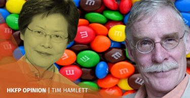 tim hamlett M&Ms