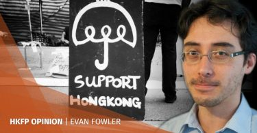 evan fowler support hong kong