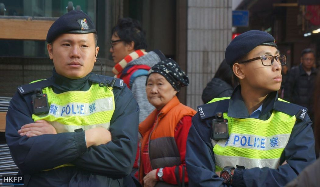 january 1 rally police