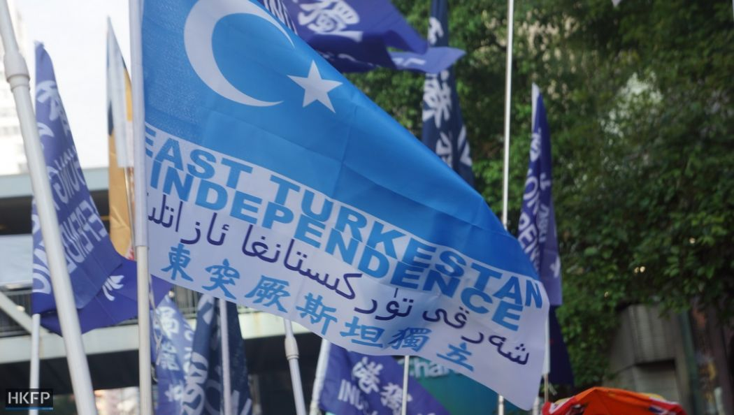 east turkestan flag xinjiang