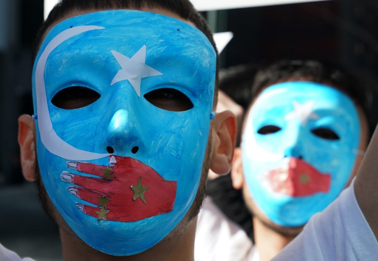 Uyghur rally new york