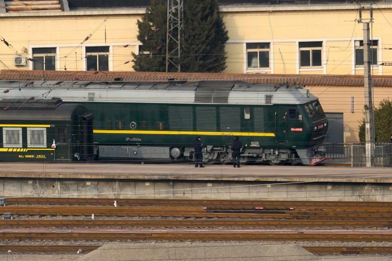 kim jong-un train