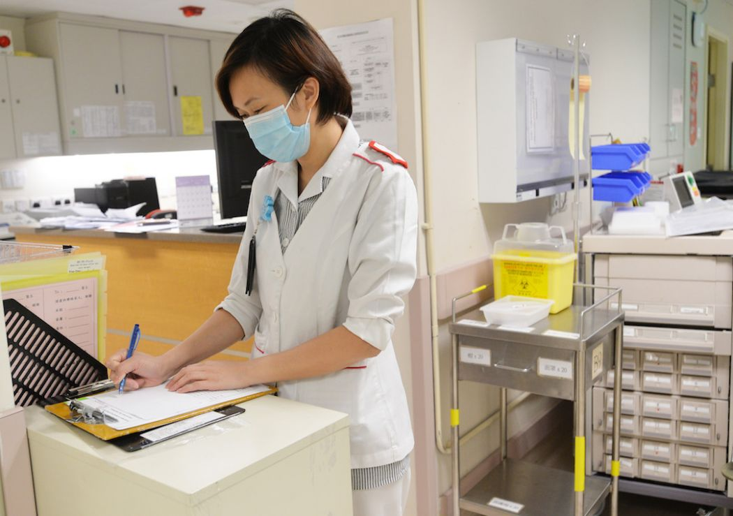 Hong Kong nurse