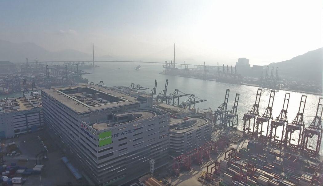 Kwai Chung Container Terminal 3 Hong Kong