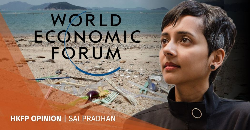 sai pradhan world economic forum davos plastics