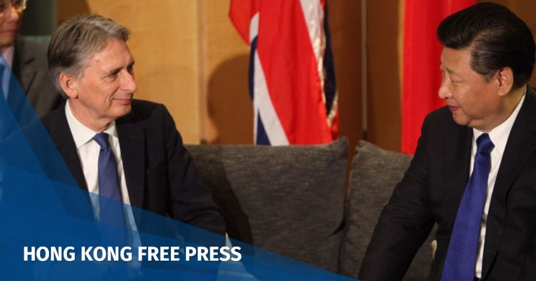 UK finance minister Philip Hammond forced to axe trip to China: reports | Hong Kong Free Press HKFP
