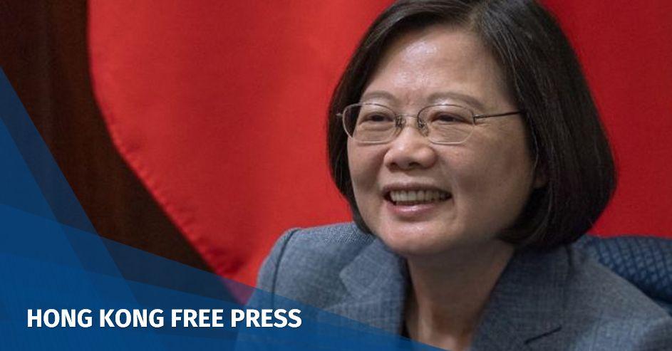 Taiwan's President Tsai Ing-wen confirms she will seek reelection in 2020   Hong Kong Free Press HKFP