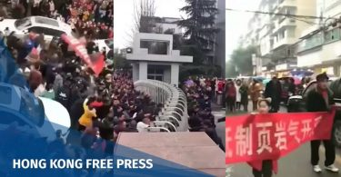Sichuan protest