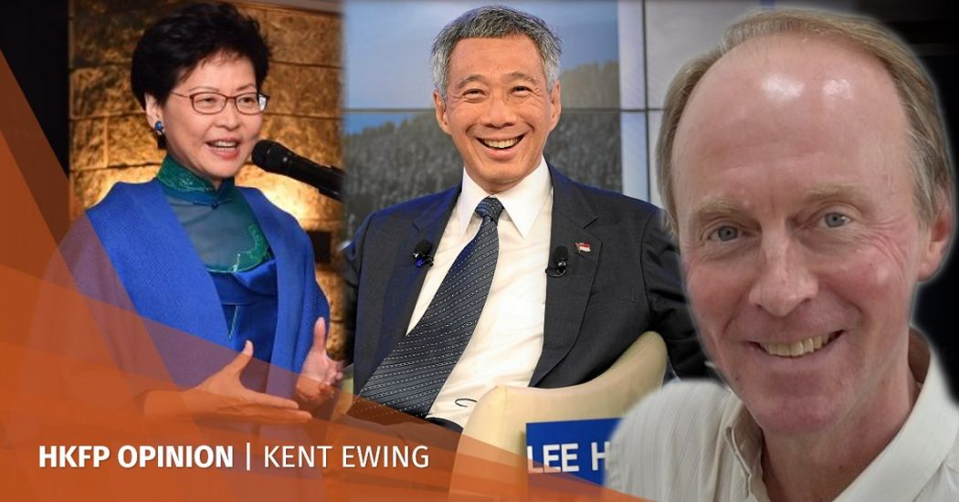 Carrie Lam Lee Hsien Loong