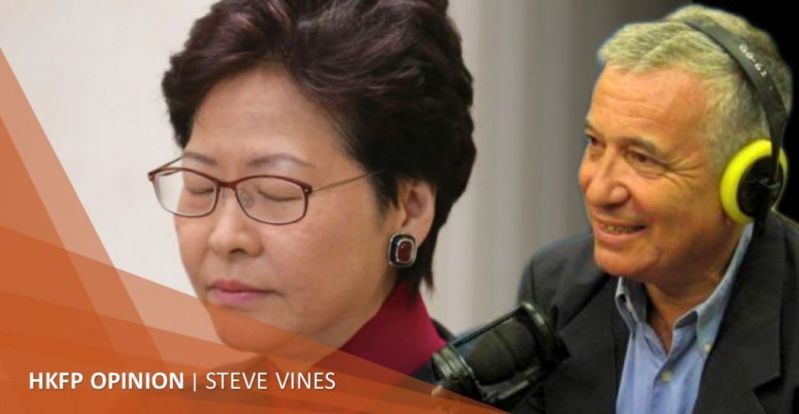 steve vines carrie lam
