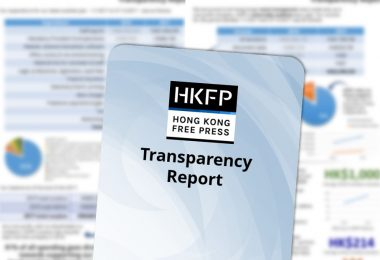 transparency report hong kong free press
