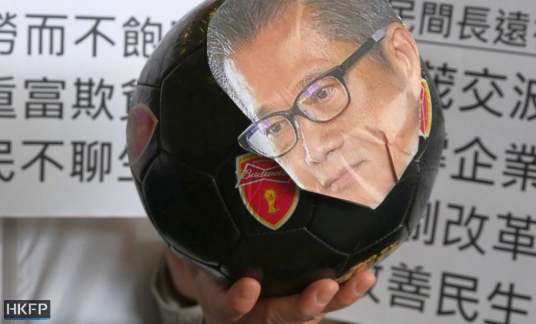 2019 budget protest paul chan
