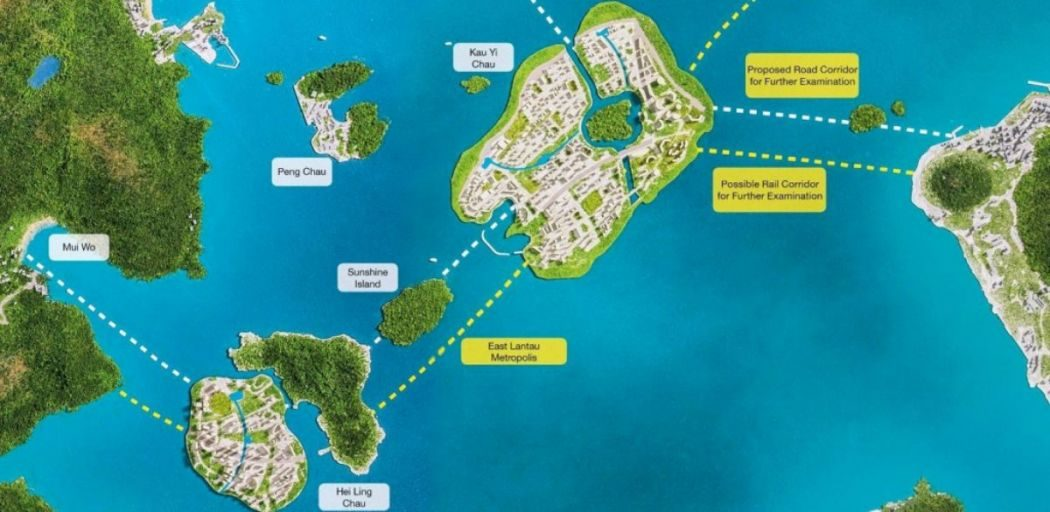 reclamation Lantau Island