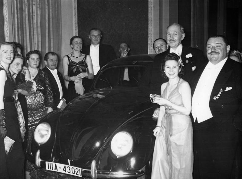 Ferdinand Porsche Volkswagen tombola