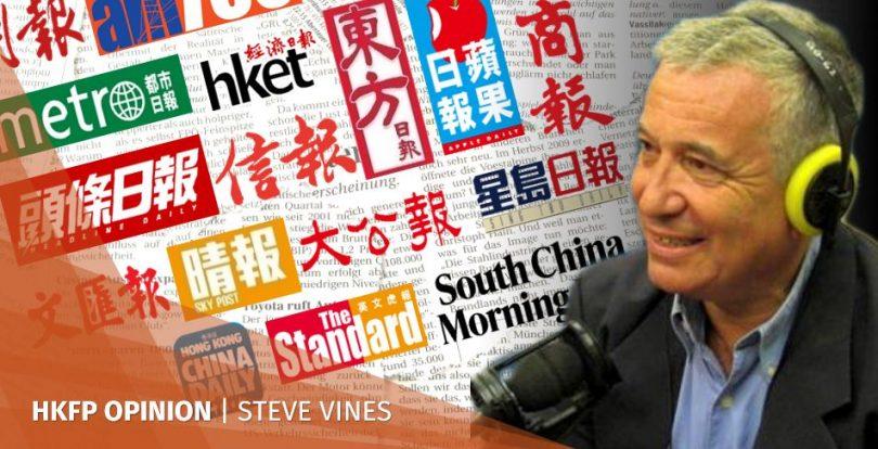 South China Morning Post steve vines