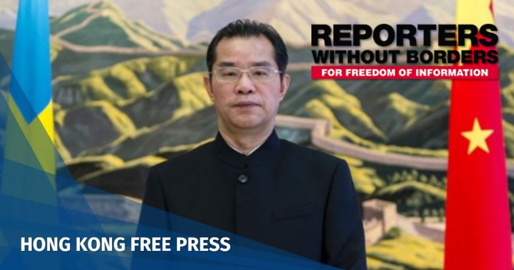 reporters without borders sweden