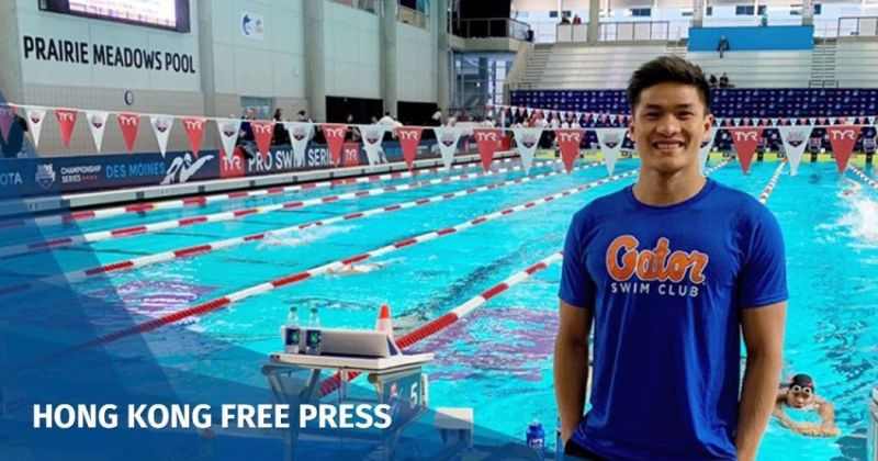 Kenneth To hong kong swimmer