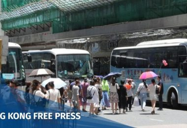 Tour buses Hung Hom