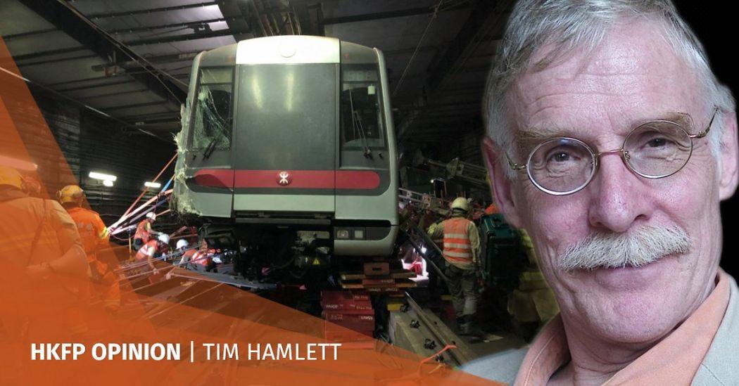 MTR crashed trains