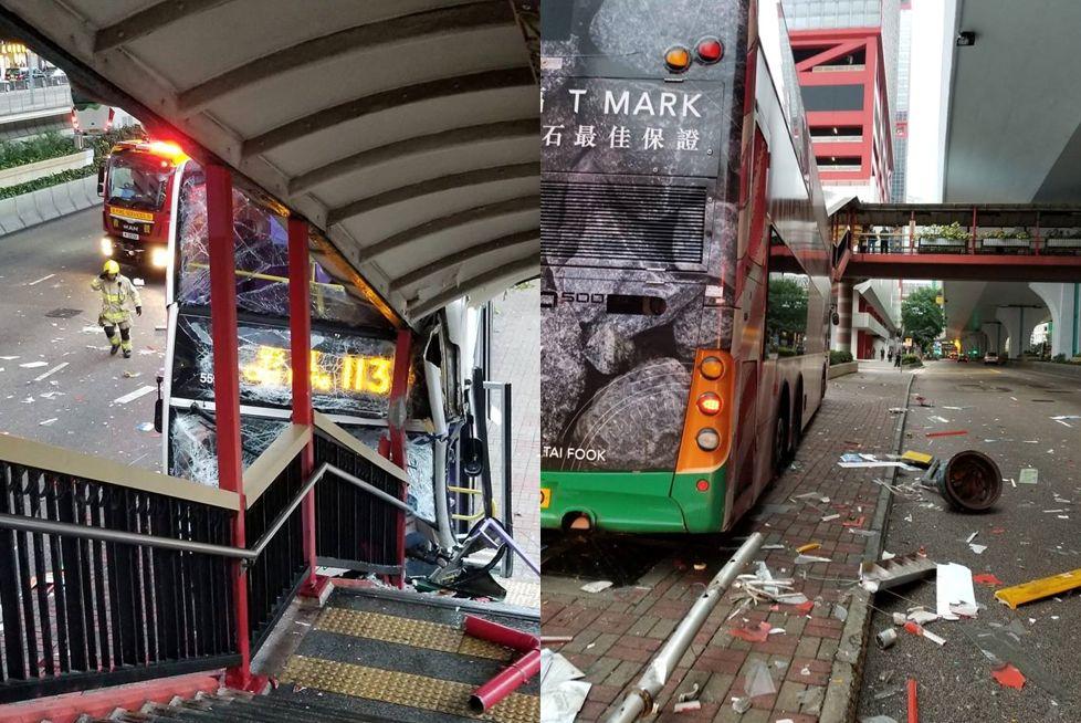 sheung wan bus crash