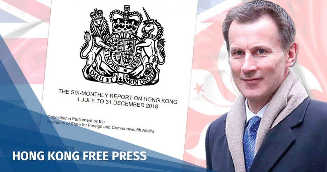 Jeremy Hunt UK report