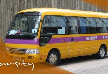 varsity school bus