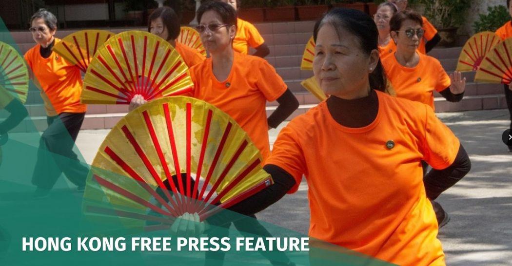 Gentle art of Tai Chi helps Tuen Mun's elderly residents cope with changing Hong Kong | Hong Kong Free Press HKFP