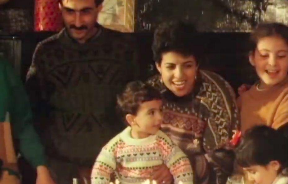 Naila Ayesh and her family