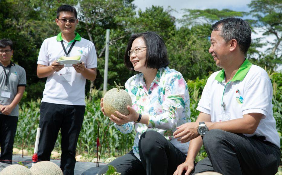taiwan tsai ing-wen in palau
