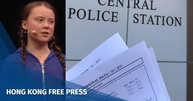 Greta Thunberg hong kong climate boycott