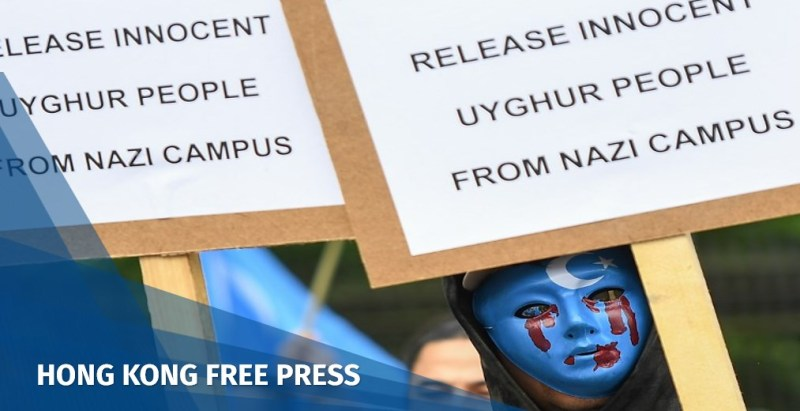 xinjiang protest east turkestan