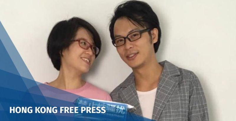 Zheng Churan and Wei Zhili. Photo: Twitter.