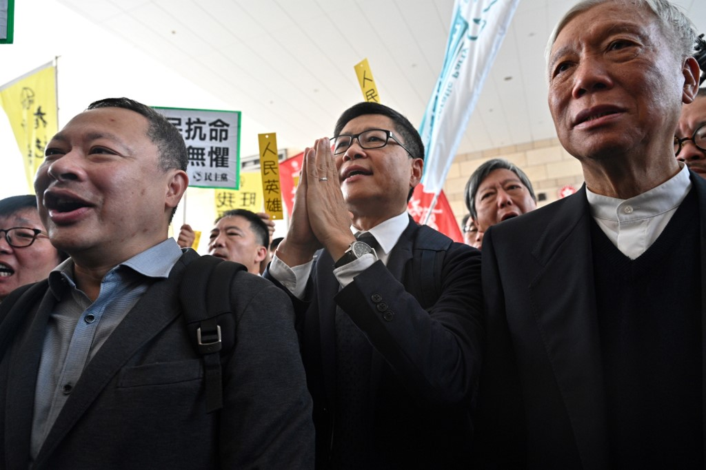 Leaders of Hong Kong's Pro-Democracy Movement Convicted