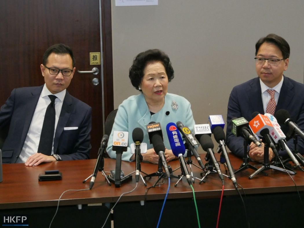 Dennis Kwok, Anson Chan, Charles Mok