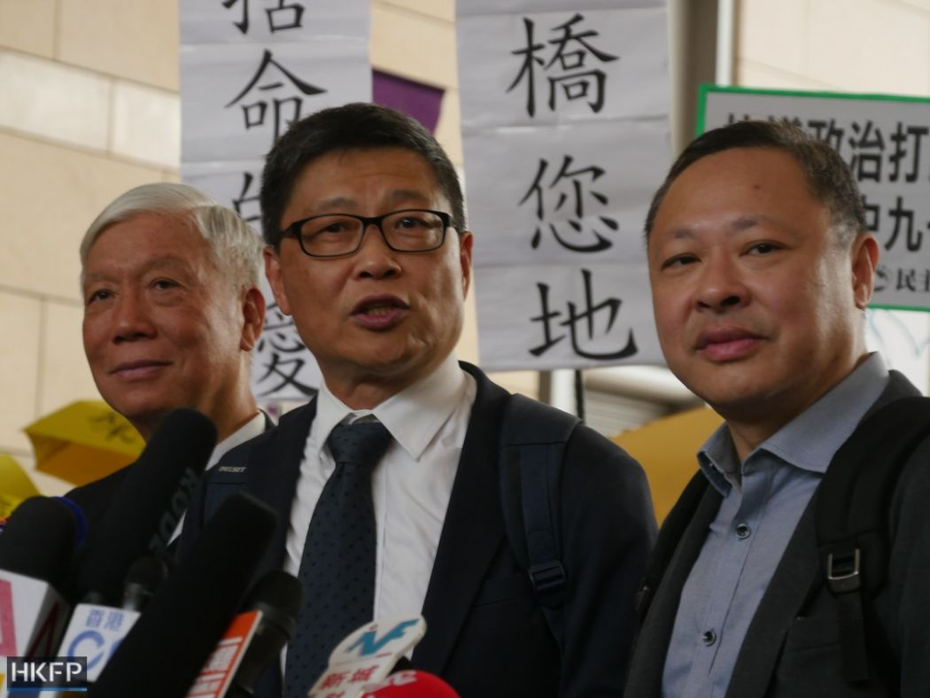 Hong Kong Umbrella Movement leaders found guilty