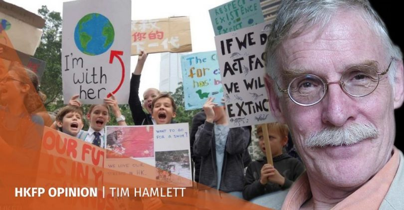 Tim Hamlett student climate change