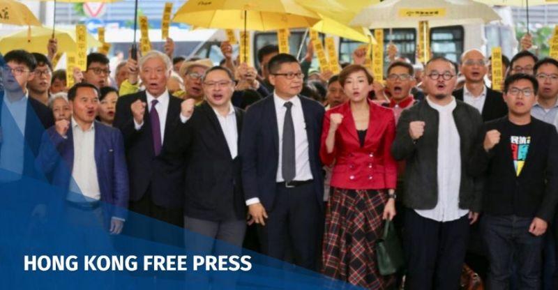 umbrella movement occupy trial
