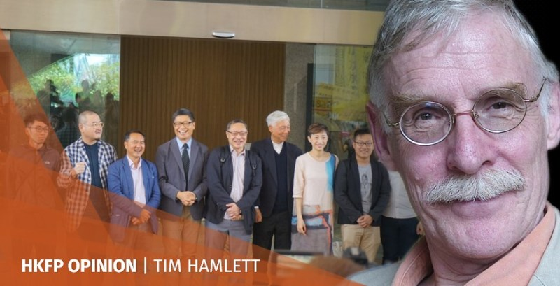 Occupy nine Tim Hamlett