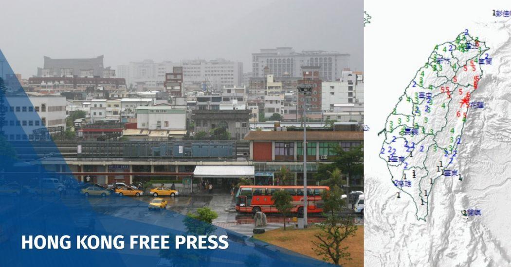 Strong 6.0 earthquake hits the east Taiwan, jolting Taipei | Hong Kong Free Press HKFP
