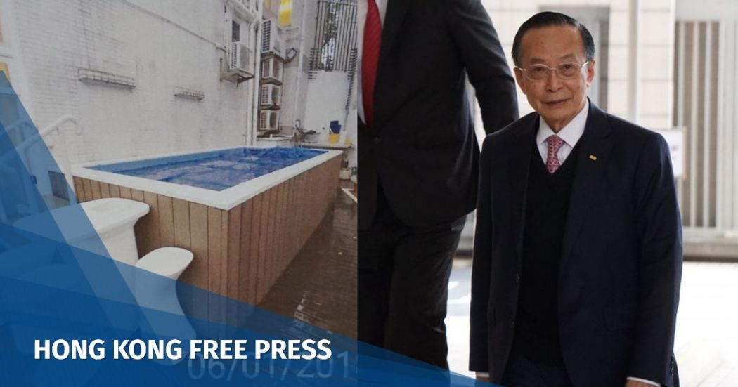 Husband of Hong Kong's justice chief fined HK$20k over illegal pool in Tuen Mun home | Hong Kong Free Press HKFP
