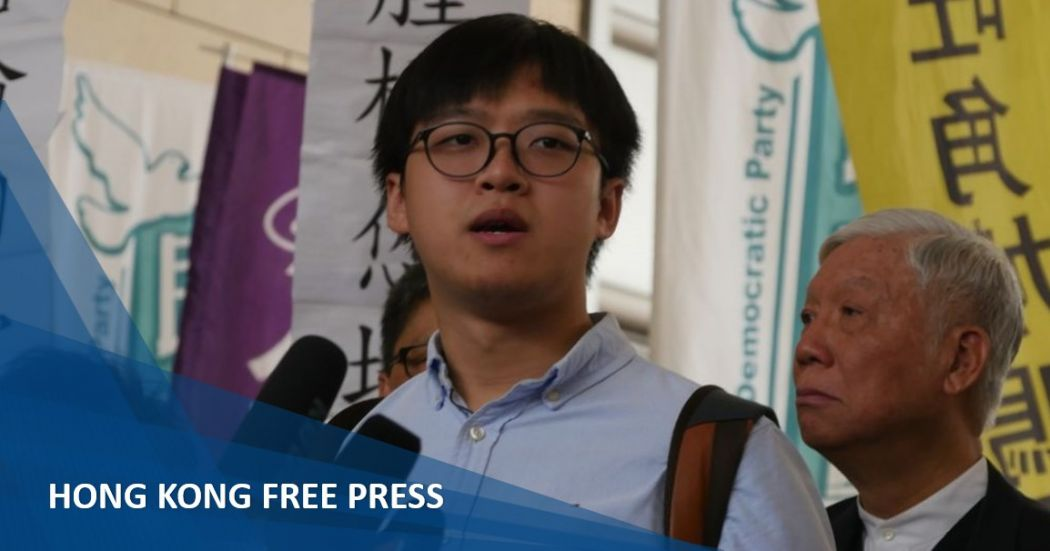 Hong Kong Umbrella Movement activist Tommy Cheung appeals for public support on eve of sentencing | Hong Kong Free Press HKFP
