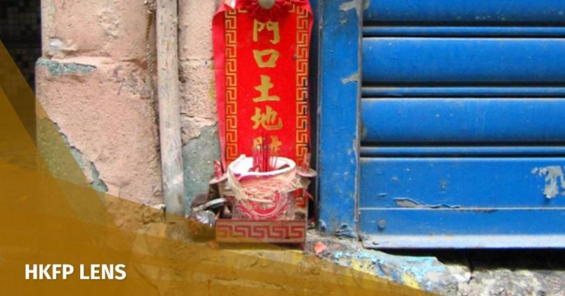 e80b02051857 HKFP Lens  The late Michael Wolf s series on  Earth Gods  zooms in on Hong  Kong s tiny doorway shrines
